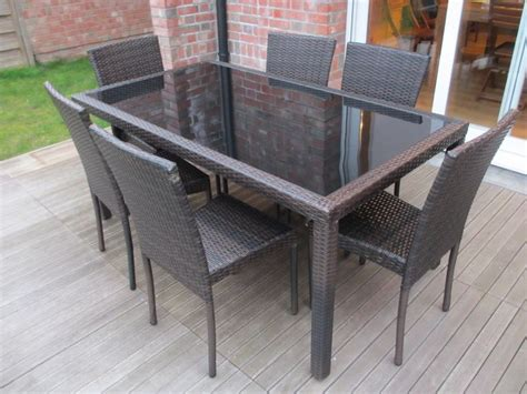 les plus belles chaises design table de jardin en résine tressée 6 chaises bergamo http alicesgarden fr mobilier jardin