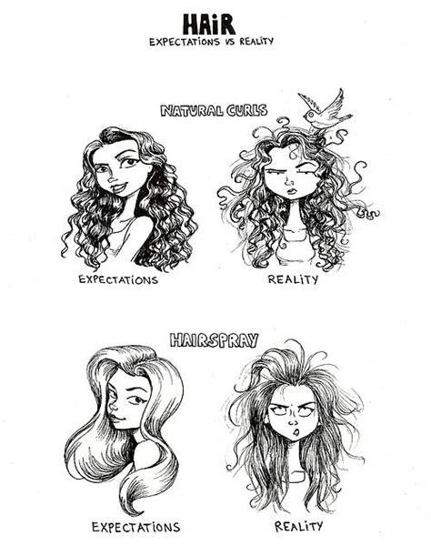 hair expectations vs reality neatorama