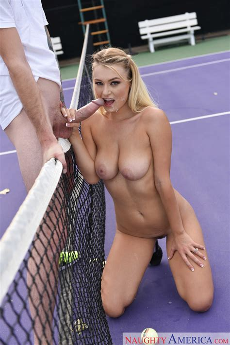 Naked Blonde Wants To Fuck Her Trainer Photos Natalia