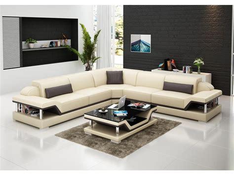 canapé d angle en cuir marron canapé d 39 angle en cuir l relax pop design fr