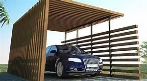 Carport Holz Modern : design carport carport tipps vom fachmann ~ Markanthonyermac.com Haus und Dekorationen