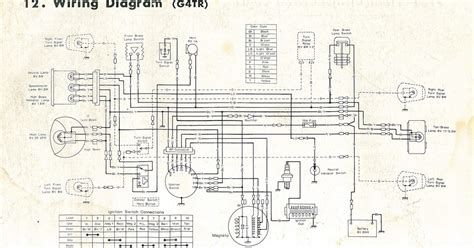 Wiring Diagram by Restoring A 1972 Kawasaki G4 Tr B Motorcycle Wiring Diagram