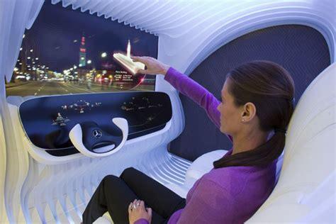mercedes benz biome inside mercedes benz futuristic dice dashboard concept tuvie