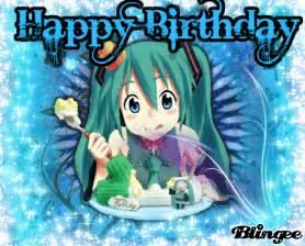 Happy Birthday Anime
