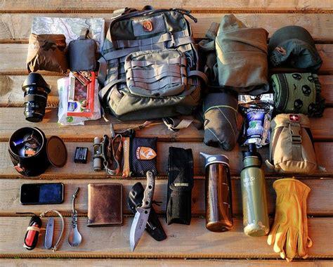 survival equipment bushcraft camping kifaru bag hiking bug gear outdoor pack kits setup backpacking edc cholera tools kit minimalist wilderness