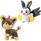 pikachu vs vivillion small figure 2 pack