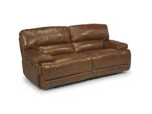 flexsteel living room power reclining sofa