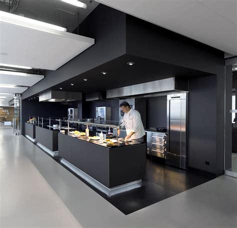 commercial kitchen   campus  soffits  amazing