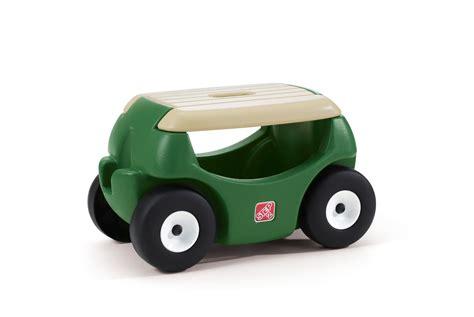 step 2 garden cart step 2 534800 wheeled garden hopper seat stool with