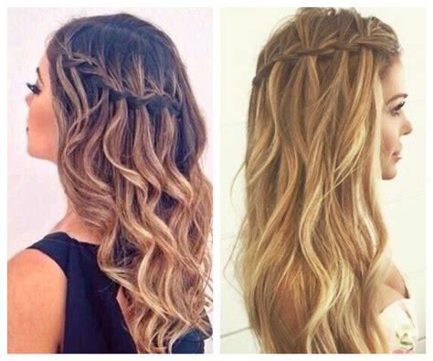 los  peinados faciles  cabello largo moda moda
