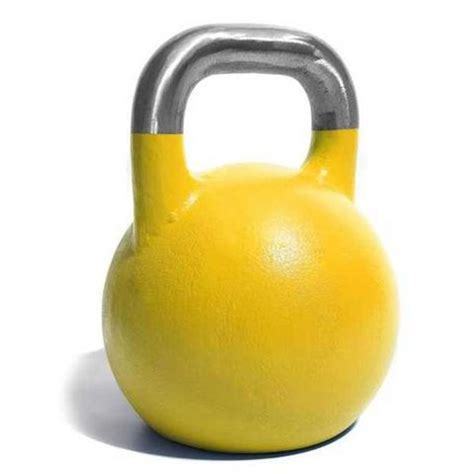competition 16kg yellow kettlebell kettlebells