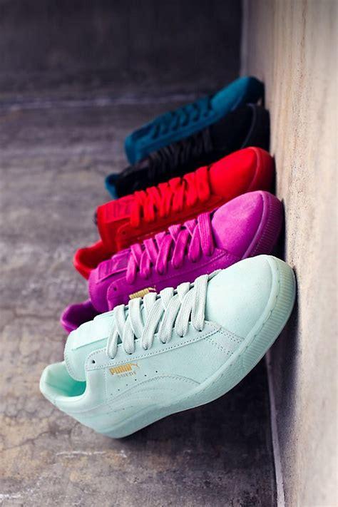 light pink puma shoes puma suede mono iced via kicks daily com women 39 s shoes