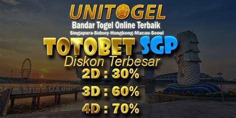totobet sgp result totobet singapura pools hari  sah