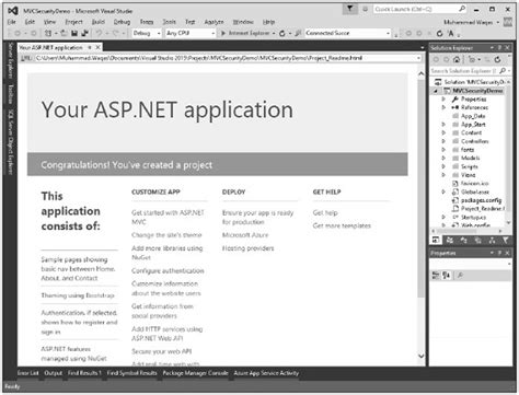 forms based authentication asp net dotnet basic advance tutorial mvc part 17