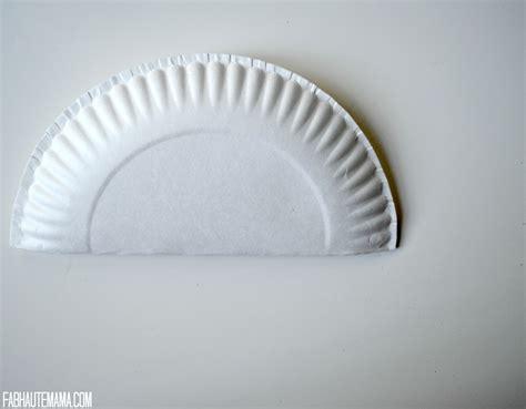 sick toddler survival kit diy paper plate nurse hat