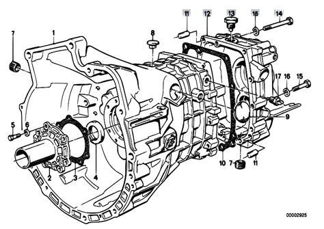 Bmw E30 Part Diagram by Original Parts For E34 520i M20 Sedan Manual