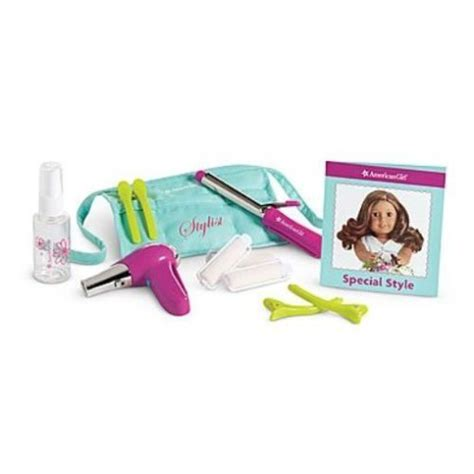 girl accessories american girl accessories salon hair stylist set for 18