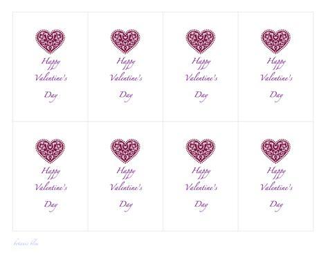 valentines card template botanic bleu paper valentines free templates