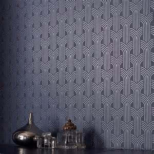 southern living bathroom ideas cinema artwork deco wallpaper geometric wall coverings