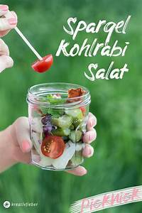 Salat Selber Anbauen : spargel kohlrabi salat mit schinken chips kreativfieber ~ Markanthonyermac.com Haus und Dekorationen