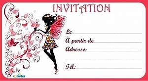 Invitation Anniversaire Fille 9 Ans : invitation anniversaire fille 9 ans gb 3e ~ Melissatoandfro.com Idées de Décoration