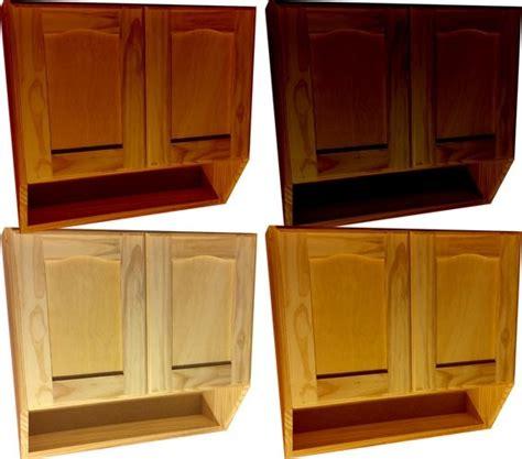 mueble de cocina aereo  puertas alacena madera
