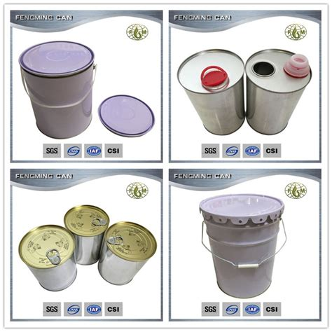 High quality paint bucket tin mockup, easy to use and fully editable mockup. 20L metal paint bucket with lid and handle for sale, View ...