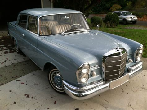 Click here to buy a(n) w 111 model at affordable price. 1962 Mercedes Benz 220S, W111 series fintail heckflosse superb restored original