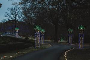 Dominion garden of lights at norfolk botanical garden for Dominion garden of lights