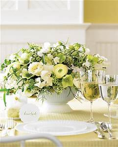 beautiful green wedding flower centerpieces and decoration ...