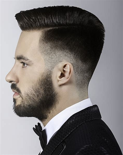 A Short Black hairstyle From the Masculina Collection by