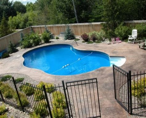 rectangle above ground pool tags pool landscaping ideas