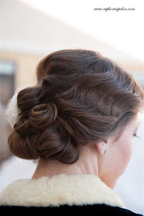 hair style with flower 17 best images about finger wave on 1920s 7716