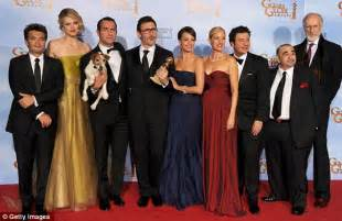 michel hazanavicius height golden globes 2012 the artist s jean dujardin the