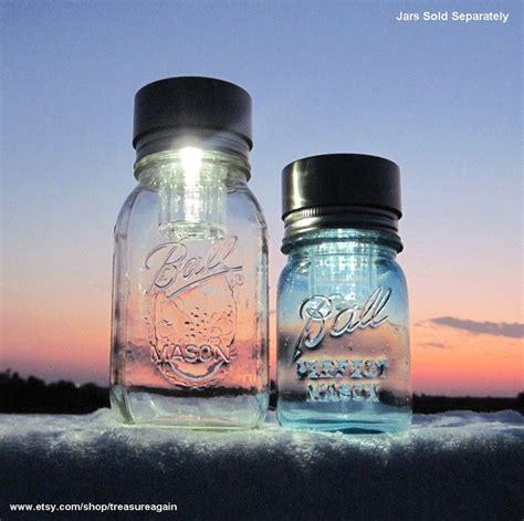solar lids 2 canning jar lights for fruit jars diy