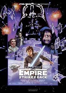 Star Wars V Empire Strikes Back Movie Poster 2 image ...