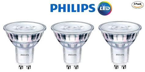 philips  led gu dimmable  degree spot light bulb