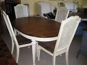 Cane Back Dining Chairs With Classic White High Back Cane