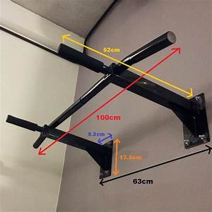 Buy Wall mounted Pull up Bar Fitness League