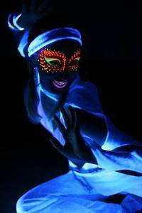 1000 ideas about Black Light Makeup on Pinterest