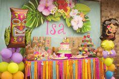 dt1016 dress jesselin hawaiian theme dessert table sugar spice everything