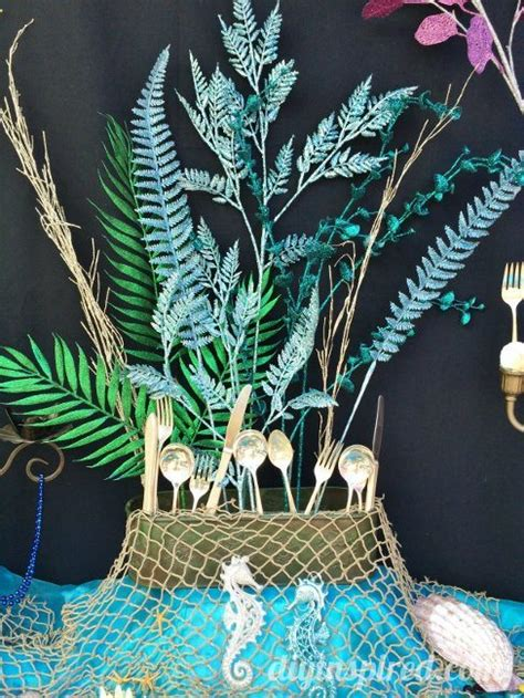 Under The Sea Decoration by The Little Mermaid Party Ideas Diy Inspired