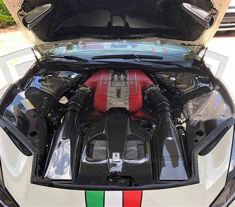 The ferrari 812 superfast is the successor to the f12berlinetta. Ferrari 812 Superfast Carbon Fiber Door Sills (with OEM emblem)