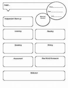 world language lesson plan template by creative language With world language lesson plan template