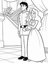 Disney Ariel Coloring Pages Princess Prince Eric Walt Vanessa Characters Fanpop King sketch template