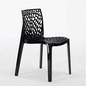 Chaise Bar Cuisine : chaise plastique cuisine bar polypropylene empilable italie gruvyer grand soleil ebay ~ Teatrodelosmanantiales.com Idées de Décoration