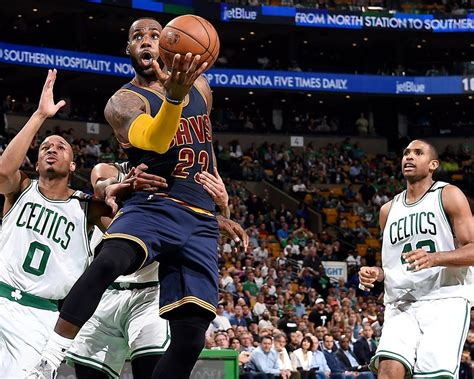 Cleveland Cavaliers VS Boston Celtics-2017 NBA Poster ...