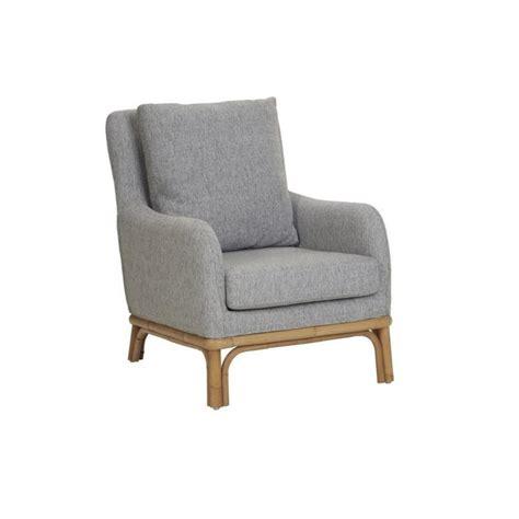 fauteuil rotin pier import fauteuil 1 place en rotin naturel et tissu kok pier import