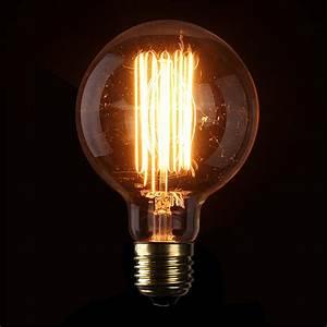 Ampoule Filament Vintage : e27 e14 b22 40 60w vintage edison lampe ampoule douille ~ Edinachiropracticcenter.com Idées de Décoration