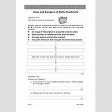 Electrostatics Worksheets By Mousey80  Teaching Resources Tes
